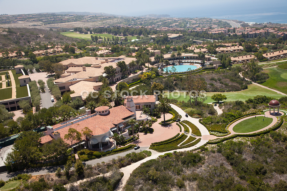 Panoramic View of The Resort at Pelican Hill in Newport Coast California