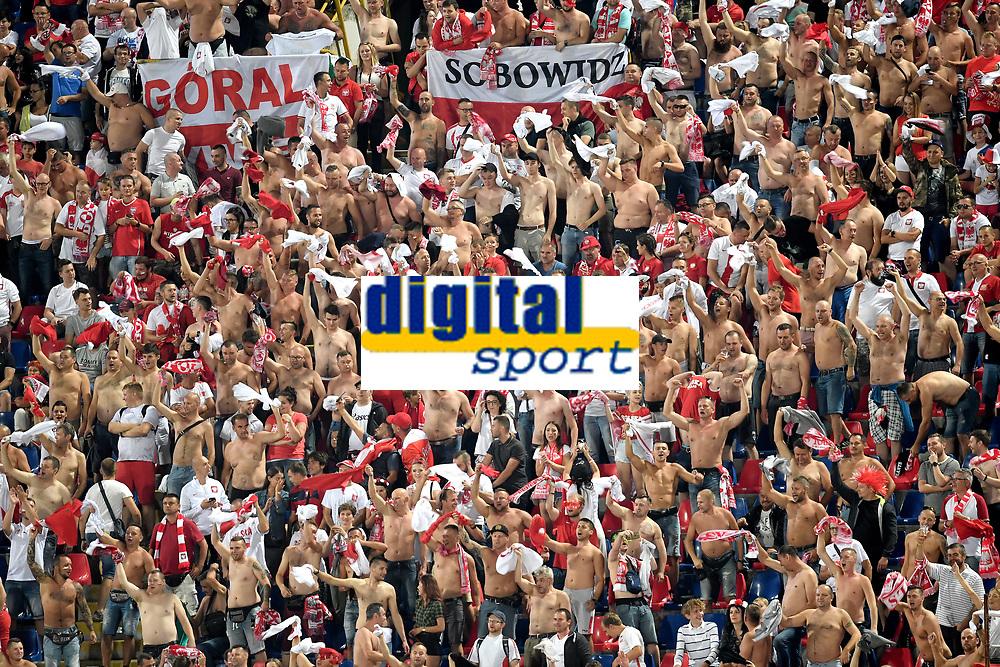 Poland supporters.<br /> Bologna 07-09-2018 <br /> Football Calcio Uefa Nations League <br /> Italia - Polonia / Italy - Poland <br /> Foto Andrea Staccioli / Insidefoto