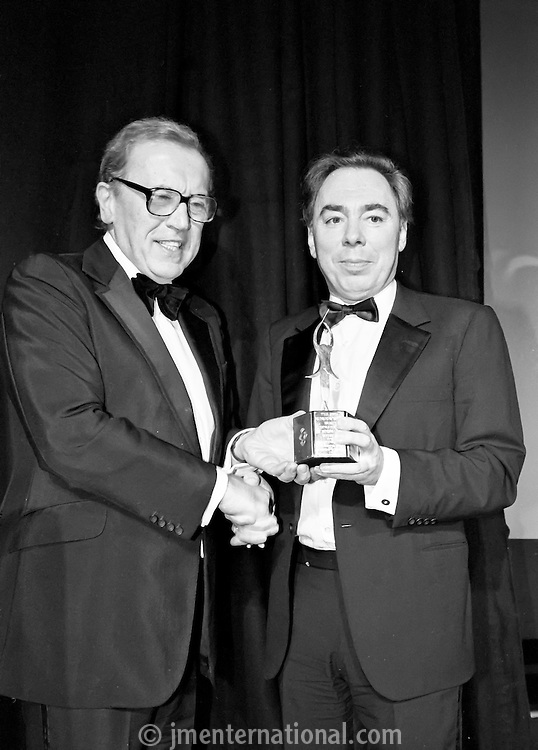 Sir David Frost and Andrew Lloyd Webber