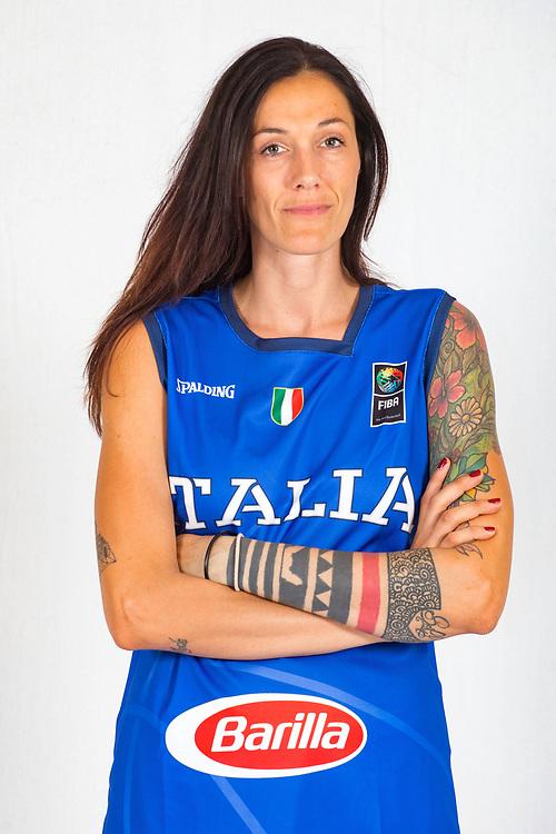 Filippi Marcella<br /> Nazionale Femminile Open 3x3<br /> Roma 01/06/2018<br /> Foto Ciamillo - Castoria