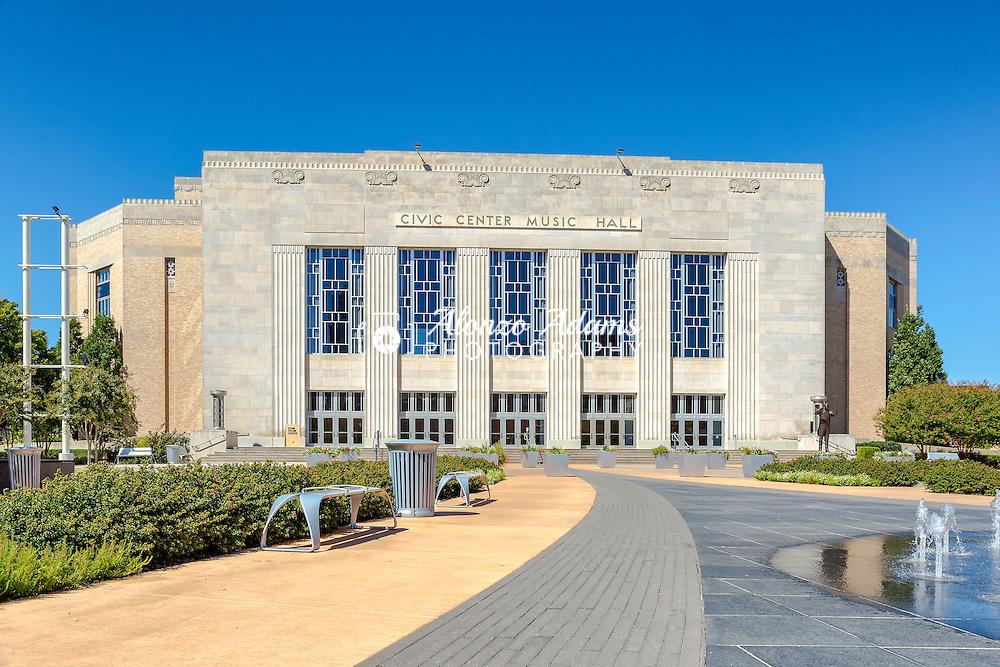 Civic Center Music Hall. (Photo copyright 2016 Alonzo J. Adams)