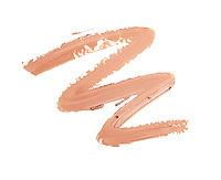 MAC Myth lipstick squiggle on white background