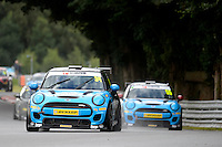 #39 Brett Smith Mini F56 JCW during the MINI Challenge - JCW at Oulton Park, Little Budworth, Cheshire, United Kingdom. August 20 2016. World Copyright Peter Taylor/PSP.