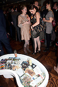 VIOLET NAYLOR-LEYLAND; BEATA HEUMAN;, Book launch party for the paperback of Nicky Haslam's book 'Sheer Opulence', at The Westbury Hotel. London. 21 April 2010