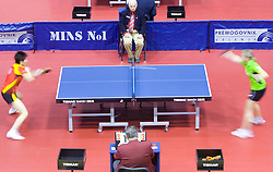 Ding Ning of China vs Anna Tikhomirova of Russia at 10th Slovenian Open Table Tennis Championships - Pro Tour Velenje Slovenian Open tournament, in Round 1, on January 15, 2009, in Red sports hall, Velenje, Slovenia. (Photo by Vid Ponikvar / Sportida)