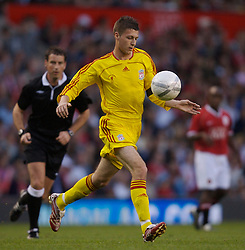 Manchester, England - Thursday, April 26, 2007: Liverpool's Craig Lindfield in action against Manchester United during the FA Youth Cup Final 2nd Leg at Old Trafford. (Pic by David Rawcliffe/Propaganda)