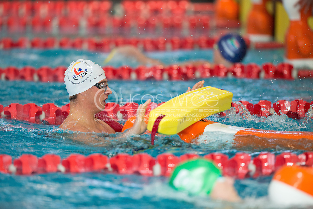 Day 2 Event Action. RSSL Commonwealth Lifesaving Championships. Australian institute Of Sport, Canberra, Australian Capital Territory, Australia. 07/09/0213. Photo By Lucas Wroe