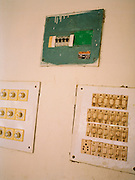 Light switches at the government guesthouse on North Andaman Island