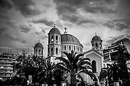 September 2015. Thessaloniki. Orthodox church in the city center.