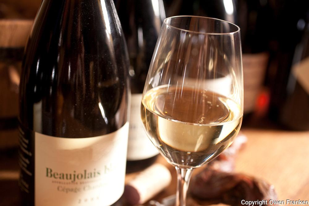 Domaine du Vissoux, Beaujolais<br /> <br /> Chermette's Beaujolais Blanc<br />  September 14, 2007<br /> <br /> Photo by Owen Franken for the NY Times