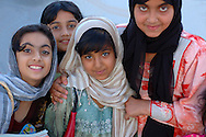 School Girls, Khasab, Musandam, Oman, Arabian Peninsula