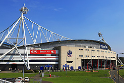 A general view of the Macron Stadium - Mandatory by-line: Matt McNulty/JMP - 21/04/2018 - FOOTBALL - Macron Stadium - Bolton, England - Bolton Wanderers v Wolverhampton Wanderers - Sky Bet Championship