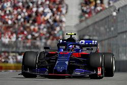 June 9, 2019 - Montreal, Canada - Motorsports: FIA Formula One World Championship 2019, Grand Prix of Canada, ..#23 Alexander Albon (THA, Red Bull Toro Rosso Honda) (Credit Image: © Hoch Zwei via ZUMA Wire)