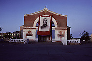 Mongolia. Ulaanbaatar. fresco to the glory of the soviets heroes  Oulan Bator  Mongolia     /  fresque la gloire des heros sovietiques  Oulan Bator  Mongolie   /  180    L1390  /  P0007952