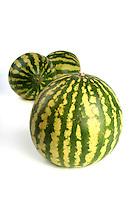 Watermelon on white background  - studio shot