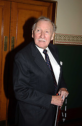 Actor LESLIE PHILLIPS at the return of Dralion to celebrate the Cirque Du Soleil's 20th Anniversary at the Royal Albert Hall, London on 6th January 2005.<br />