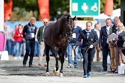 Werth Isabell, GER, Weihegold OLD<br /> Dressage Vetcheck<br /> European Championship Goteborg 2017<br /> © Hippo Foto - Stefan Lafrenz