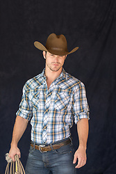 cowboy holding a lasso