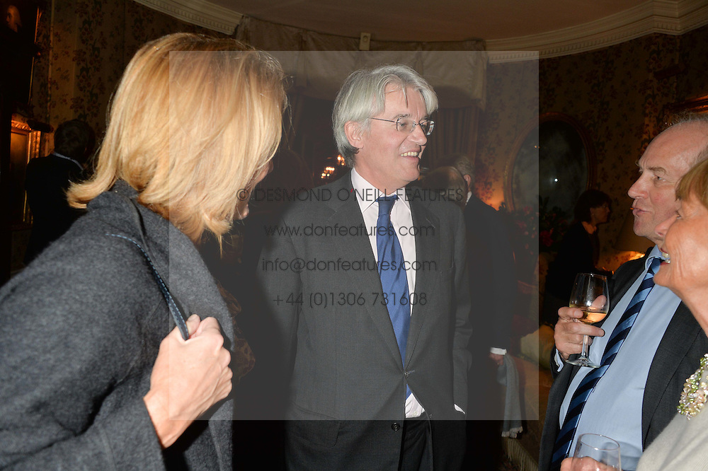 ANDREW MITCHELL MP at a party to celebrate the publication of Right or Wrong: The Memoirs of Lord Bell held at Mark's Club, Charles Street, London on 16th October 2014.
