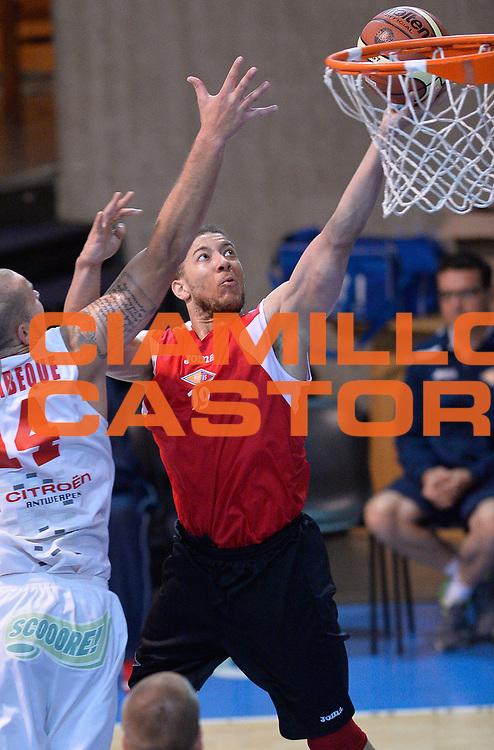 DESCRIZIONE : Bormio Lega A 2014-15 amichevole Acea Virtus Roma - Antwerp Giants Anversa<br /> GIOCATORE : Brandon Triche<br /> CATEGORIA : tiro penetrazione<br /> SQUADRA : Acea Virtus Roma<br /> EVENTO : Valtellina Basket Circuit 2014<br /> GARA : Acea Virtus Roma - Antwerp Giants Anversa<br /> DATA : 09/09/2014<br /> SPORT : Pallacanestro <br /> AUTORE : Agenzia Ciamillo-Castoria/A.Scaroni<br /> Galleria : Lega Basket A 2014-2015  <br /> Fotonotizia : Bormio Lega A 2014-15 amichevole Acea Virtus Roma - Antwerp Giants Anversa<br /> Predefinita :