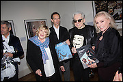 MARIANNE FAITHFUL; CHRIS STEIN; DEBBIE HARRY. Chris Stein / Negative: Me, Blondie, and The Advent of Chris Stein / Negative: Me, Blondie, and The Advent of Punk - private view, Somerset House, the Strand. London. 5 November 2014.