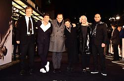 David Hare, Oleg Ivenko, Ralph Fiennes, Gabrielle Tana, Carolyn Marks Blackwood, and Ilan Eshkeri attending The White Crow UK Premiere held at the Curzon Mayfair, London.