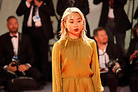 Margaret Zhang at the premiere of the film Victoria & Abdul at the 74th Venice Film Festival, Sala Grande on Sunday 3 September 2017, Venice Lido, Italy.