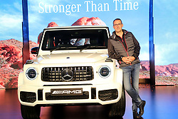 October 5, 2018 - Delhi, India - Michael Jopp, Vice President, Sales & Marketing Mercedes-Benz India.during the launch of Mercedes-Benz G63 model. (Credit Image: © Jyoti Kapoor/Pacific Press via ZUMA Wire)