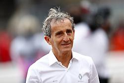 May 23, 2019 - Monte Carlo, Monaco - Motorsports: FIA Formula One World Championship 2019, Grand Prix of Monaco, ..Alain Prost (FRA, Renault F1 Team) (Credit Image: © Hoch Zwei via ZUMA Wire)