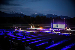 Anton Podbevsek Teater perform during Official opening of the Slovenian National football centre Brdo (Nacionalni nogometni center Brdo), on May 6, 2016, in Brdo pri Kranju, Slovenia. Photo by Vid Ponikvar / Sportida