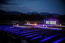 Anton Podbevsek Teater perform during Official opening of the Slovenian National football centre Brdo (Nacionalni nogometni center Brdo), on May 6, 2016, in Brdo pri Kranju, Slovenia. Photo by Vid Ponikvar / Sportida