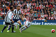 Stoke City midfielder Xherdan Shaqiri during the Barclays Premier League match between Stoke City and West Bromwich Albion at the Britannia Stadium, Stoke-on-Trent, England on 29 August 2015. Photo by Aaron Lupton.