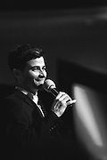 Matt Cohen at the Dick and Matt Pack Karaoke party, Salute to Supernatural Las Vegas 2014