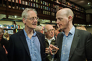WILLIAM FITZGERALD; HARRY MOUNT, William Fitzgerald, Book launch ,  'How to read a Latin poem - if you can't read Latin yet' published by OUP.- Daunts bookshop Marylebone, London 21 February 2013.