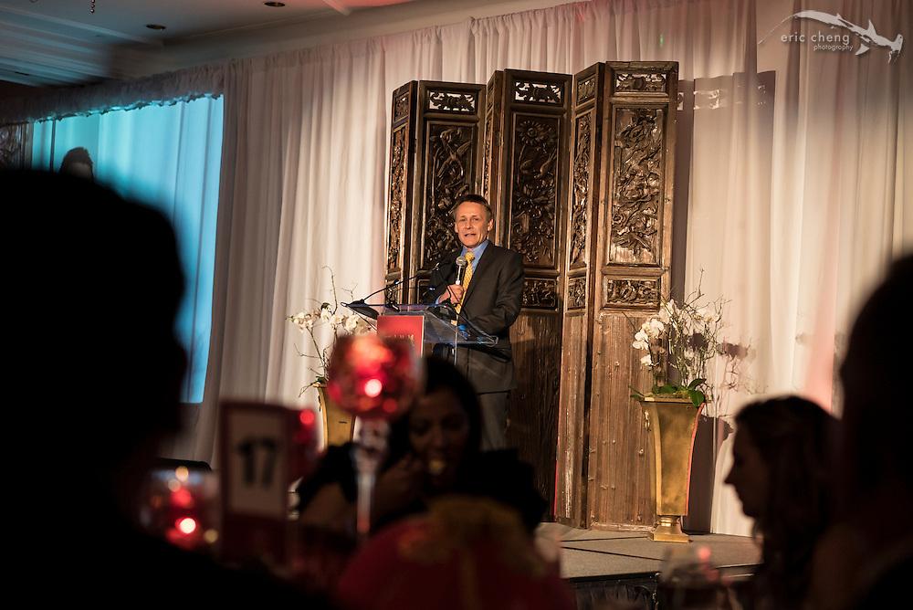 Peter Knights; WildAid Gala, November 15, 2014
