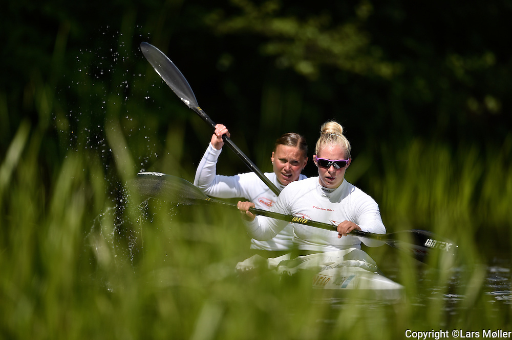 DK Caption:<br /> 20150529, K&oslash;benhavn, Danmark:<br /> ICF Sprint Canoe World Cup i Bagsv&aelig;rd, Danmark. Emma J&oslash;rgensen og Henriette Engel Hansen (DEN) K2 kvinder 500 m<br /> Foto: Lars M&oslash;ller<br /> UK Caption:<br /> 20150529, Copenhagen, Denmark:<br /> ICF Sprint Canoe World Cup in Copenhagen, Denmark. Emma J&oslash;rgensen and Henriette Engel Hansen (DEN) K2 women 500 m<br /> Photo: Lars Moeller