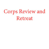 Corps Review and Retreat IHO NU Bot b