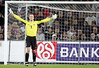 Fotball<br /> VM-kvalifisering<br /> Norge v Hviterussland<br /> Ullevaal stadion<br /> 8. september 2004<br /> Foto: Digitalsport<br /> Thomas Myhre, Norge