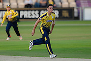 Gavin Griffiths of Hampshire during the NatWest T20 Blast South Group match between Hampshire County Cricket Club and Somerset County Cricket Club at the Ageas Bowl, Southampton, United Kingdom on 29 July 2016. Photo by David Vokes.