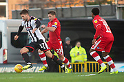 Grimsby Town forward Harry Cardwell during the EFL Sky Bet League 2 match between Grimsby Town FC and Crawley Town at Blundell Park, Grimsby, United Kingdom on 17 November 2018.