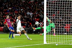 Dele Alli of Tottenham Hotspur scores a goal to make it 3-1  - Mandatory by-line: Robbie Stephenson/JMP - 07/12/2016 - FOOTBALL - Wembley Stadium - London, England - Tottenham Hotspur v CSKA Moscow - UEFA Champions League