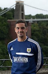 Bristol City kit man Scott Murray - Photo mandatory by-line: Kieran McManus/JMP - Tel: Mobile: 07966 386802 31/07/2013 - SPORT - FOOTBALL - Avon Gorge Hotel - Clifton Suspension bridge - Bristol -  Team Photo