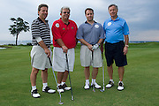 Participants in a golf event for The Tomorrow Fund for Children With Cancer, Warwick Country Club. (L to R) Peter Ruggieri, Micahel Ruggieri, Val Colasanto, Jr., Val Colasanto, Sr.