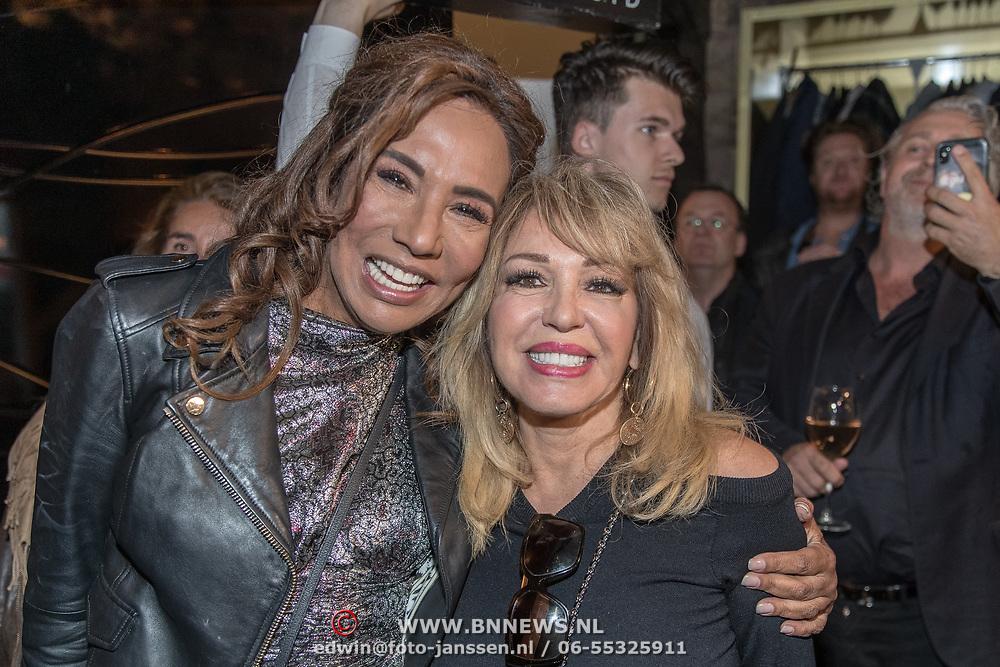 NLD/Amsterdam/20190401 -  Opening Burgerroom Gordon , Patty Brard en Patricia Paay