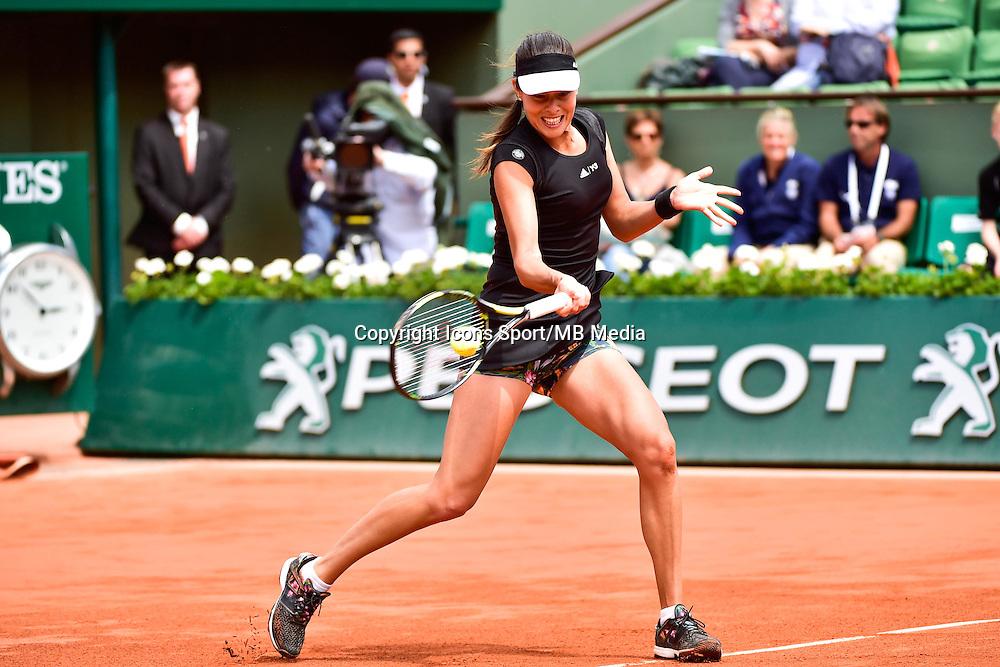 Ana IVANOVIC  - 02.06.2015 - Jour 10 - Roland Garros 2015<br />Photo : David Winter / Icon Sport