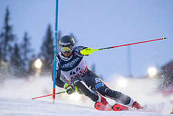 11.02.2019, Aare, SWE, FIS Weltmeisterschaften Ski Alpin, alpine Kombination, Herren, Slalom, im Bild Adrian Smiseth Sejersted (NOR) // Adrian Smiseth Sejersted of Norway reacts after the Slalom competition of the men's alpine combination for the FIS Ski World Championships 2019. Aare, Sweden on 2019/02/11. EXPA Pictures © 2019, PhotoCredit: EXPA/ Johann Groder