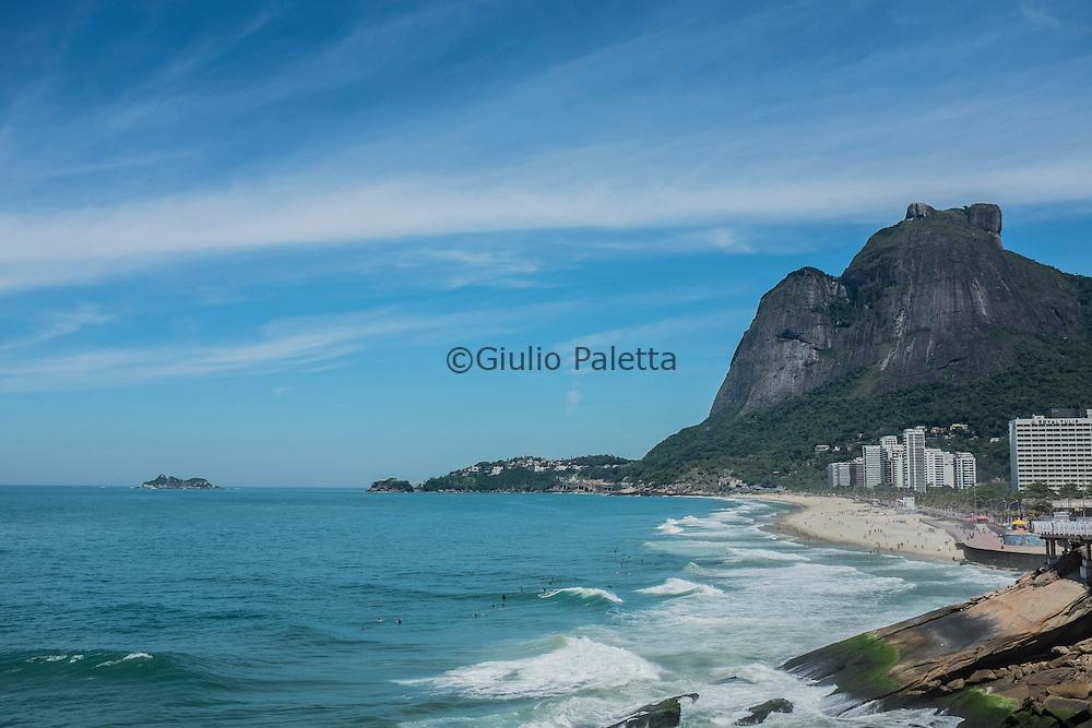 The beach of São Conrado