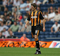 Photo: Lee Earle.<br /> West Bromwich Albion v Hull City. Coca Cola Championship. 05/08/2006. Hull's recent signing Sam Ricketts.