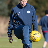 St Johnstone Training…22.02.16<br />Steven Anderson pictured in training this morning ahead of tomorrow night's re-arranged game against Partick Thistle<br />Picture by Graeme Hart.<br />Copyright Perthshire Picture Agency<br />Tel: 01738 623350  Mobile: 07990 594431