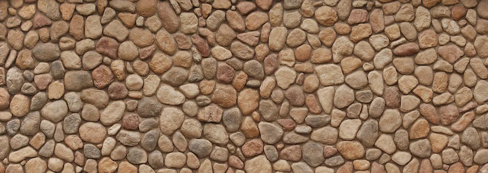 Large field stone wall